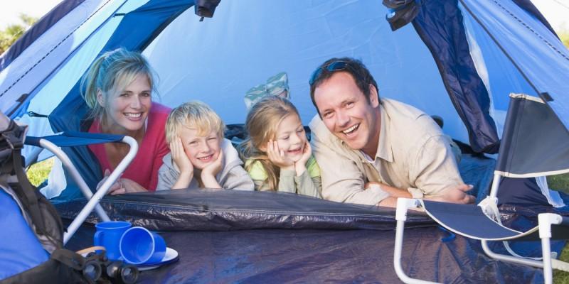 Campingurlaub mit Zelt