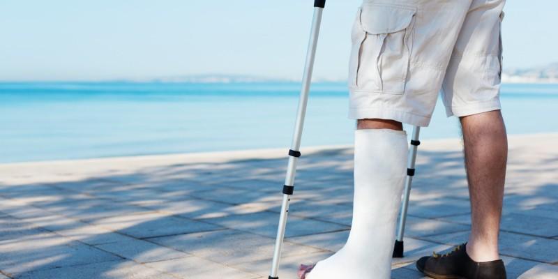 Eine Verletzung im Ausland kann teuer werden